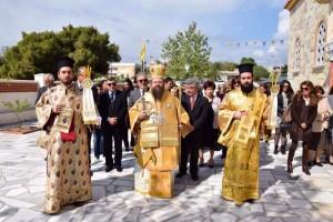 Η Ι.Μητρόπολη Μεγάρων και Σαλαμίνος εόρτασε για πρώτη φορά τον Προστάτη και Έφορό της Άγιο Λαυρέντιο