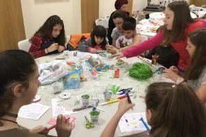Το πασχαλινό εργαστήρι των νέων παιδιών της Ευαγγελίστριας Ιλίου