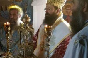 Ο νέος Πέτρας και Χερσονήσου Γεράσιμος τιμήθηκε από 5ο Σύστημα Ναυτοπροσκόπων στην Ελούντα