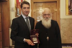 Ο νέος Πρέσβης της Σερβίας στον Αρχιεπίσκοπο