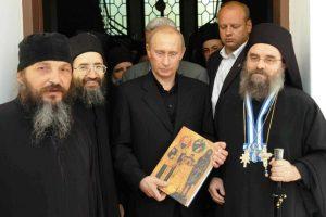 Ο Πούτιν στο Άγιον Όρος