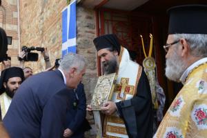 Στις Σέρρες ο Πρόεδρος της Σερβίας- Δοξολογία από τον μητροπολίτη Θεολόγο για την υποδοχή του