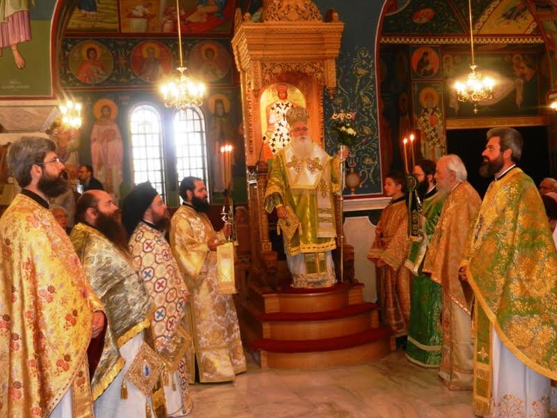 Με λαμπρότητα η Κυριακή των Βαΐων στο Βόλο