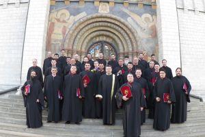 Οι «Θεσσαλονικείς Υμνωδοί» από τον Αγιο Γρηγόριο Παλαμά,στη Μόσχα για το Πασχαλινό Φεστιβάλ