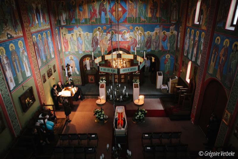 """Πλήθος πιστών  """"αποχαιρέτησε"""" τον πρωτοπόρο π. Ιγνάτιο Peckstadt, κατά σάρκα πατέρα του Μητροπολίτη Βελγίου Αθηναγόρα"""
