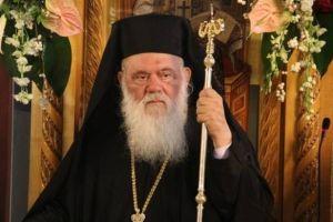 Ο Αρχιεπίσκοπος λειτουργεί την Παναγιά των Οινουσσών ΣΤΙΣ 12 ΙΟΥΝΙΟΥ