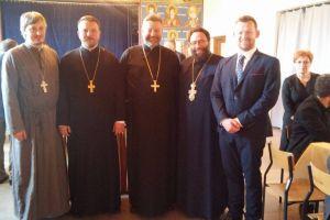 Ο  Αρχιεπίσκοπος Βαρσοβίας Σάββας,παρέλεβε στα Ελληνικά την ακολουθία του Παιδομάρτυρα Γαβριήλ