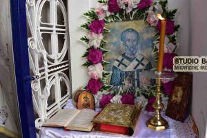 Η εορτή της ανακομιδής των Ιερών Λειψάνων του Αγίου Νικολάου στην Καραθώνα Ναυπλίου