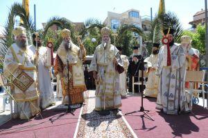 Πλήθος πιστών  στην πολιούχο του Αιγίου Παναγία Τρυπητή