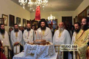 Η εορτή του Αγίου Νικόλαου του εν Βουνένοις στo Ανυφί Ναυπλίας