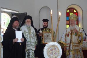 Ο Οικουμενικός Πατριάρχης κ.κ. Βαρθολομαίος στην Ιωνία