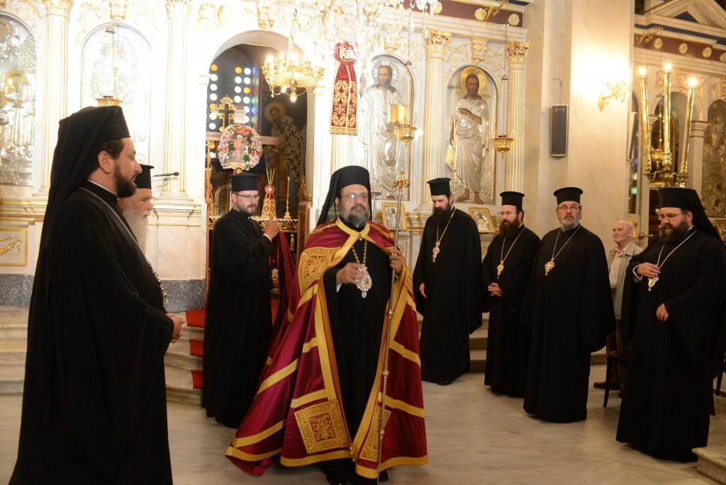 You are currently viewing Εσπερινός στην Καλαμάτα για τους Μεσσηνίους Αγίους