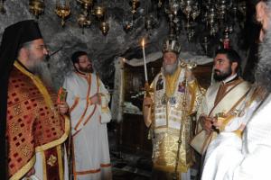 Λουτράκι: Τίμησαν την επέτειο από την εύρεση του σκηνώματος του Οσίου Παταπίου