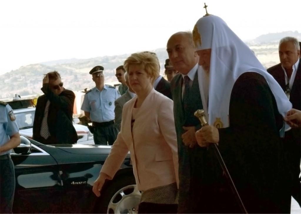 Υποδοχή του Πατριάρχη Ρωσίας στη Θεσσαλονίκη
