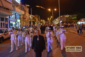 Το Ναύπλιο τιμά με λαμπρότητα τους Αγίους Κωνσταντίνο και Ελένη