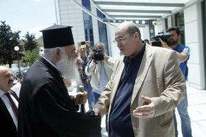 Σύμφωνο συνεργασίας υπέγραψαν ο Αρχιεπίσκοπος με τον Υπουργό Παιδείας