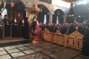 Το ιστορικό  Βελεστίνο υποδέχθηκε τον Αρχιεπίσκοπο Ιερώνυμο