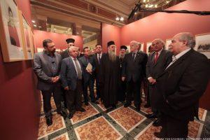 Εγκαινιάστηκε η έκθεση-αφιέρωμα στο Άγιον Όρος στη Βουλή των Ελλήνων
