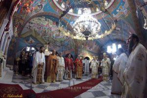 Λαμπρός εορτασμός στην Ι.Μ. Αγίου Ραφαήλ Θερμής