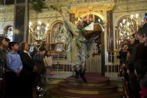 """Η  """"πρώτη Ανάσταση"""" στην Ευαγγελίστρια Χίου"""