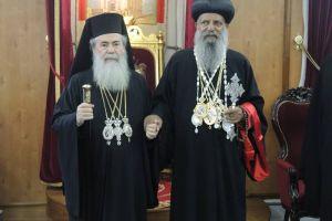 Ο Πατριάρχης της Αιθιοπικής Εκκλησίας στο Πατριαρχείο Ιεροσολύμων