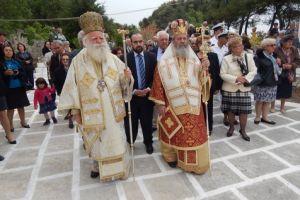 Με  βάση την νησιωτική  παράδοση  έγινε η εορτή του πολιούχου των Κυθήρων αγίου Θεοδώρου
