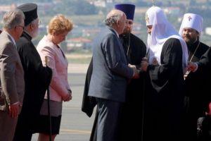 Έφτασε στο Άγιο Όρος ο Πατριάρχης Μόσχας Κύριλλος – Βίντεο & φώτο- Ποιοι τον υποδέχθηκαν