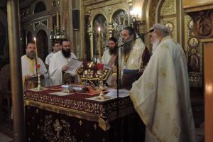 Η εορτή της Παναγίας Βηματάρισσας της Βατοπαιδινής στον Πειραιά