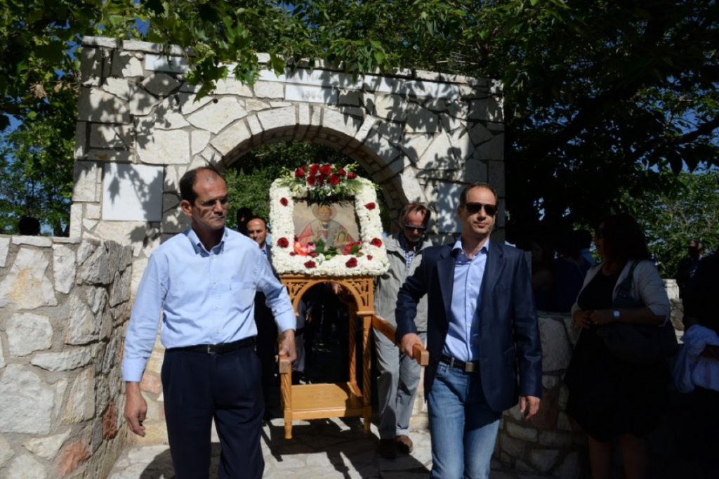 Η μετακομιδή των λειψάνων του αγίου Νικολάου όπως εορτάστηκε στην  Πάτρα
