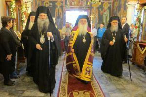 Εόρτασε η πόλη των Θηβών τον πολιούχο της Άγιο Ιωάννη (τον Καλοκτένη)