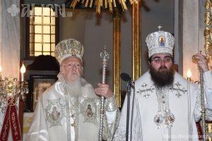 Πανηγυρική συλλειτουργία Πατριάρχη Βαρθολομαίου και Αρχιεπισκόπου Τσεχίας Ραστισλάβου, στην Ι.Μονή Ζωοδόχου Πηγής Μπαλουκλή