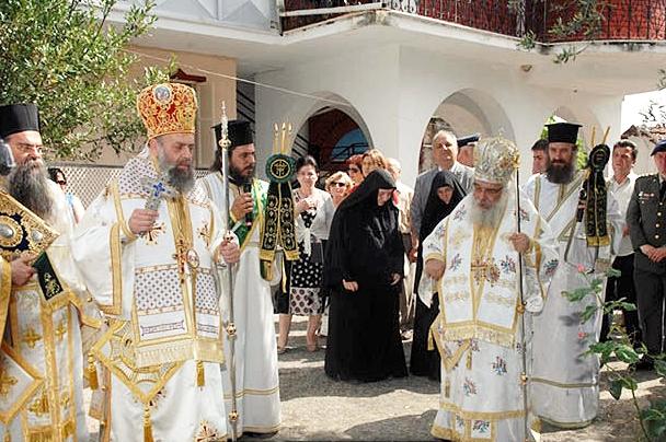 You are currently viewing Ο Μητροπολίτης Θεσσαλιώτιδος στην πανήγυρη της Ι. Μονής Αγ. Τριάδος Εδέσσης