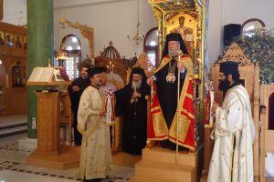 Μνημόσυνο του πατέρα του ετέλεσε ο Αρχιεπίσκοπος Κύπρου στην γενέτειρά του.