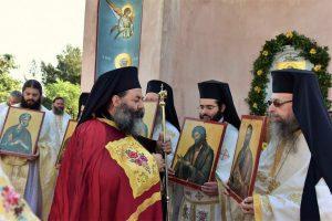 Αρχιερατική Θεία Λειτουργία των Αποστόλων Πέτρου και Παύλου στον Λαγκαδά