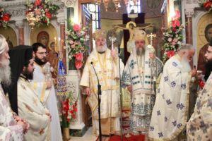 Αρχιερατικό συλλείτουργο στους Αγίους Αποστόλους Πεύκης