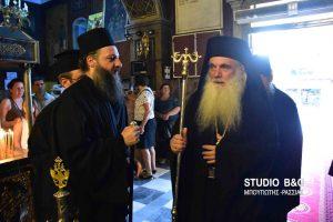 Ομιλία με θέμα  ''Η Εκκλησία των Μαρτύρων''  του Μητροπολίτη Αργολίδος