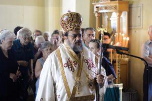 Ο Μητροπολίτης Μεσσηνίας στο προσκύνημα των Αγ. Αποστόλων Καλαμάτας