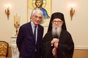 Στον Αρχιεπίσκοπο Αμερικής ο Γιάννης Μπουτάρης