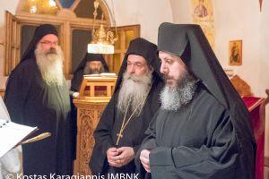Κουρά Μοναχού στην Ιερά Μονή Παναγίας Δοβρά