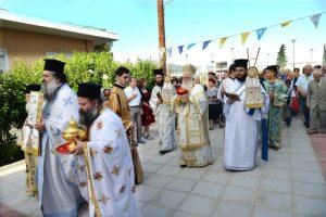Εγκαινιάστηκε ο Ιερός Ναός Αγίας Άννης Βόλου