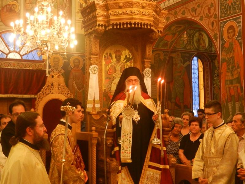 You are currently viewing Δημητριάδος Ιγνάτιος: «Η Ορθοδοξία δεν είναι των λίγων, δε σχετίζεται με τον φανατισμό» Λαμπρός ο εορτασμός των Αποστόλων Πέτρου και Παύλου στη Νέα Ιωνία