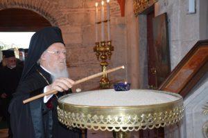 Ο εσπερινός των ονομαστηρίων του Οικουμενικού Πατριάρχου