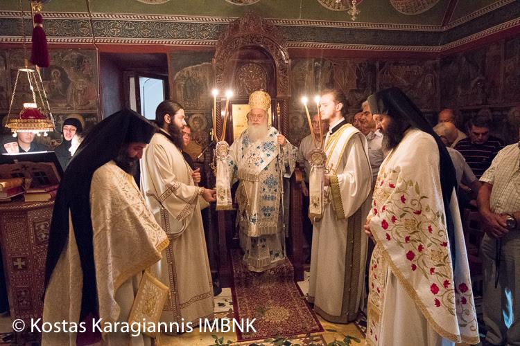 Η εορτή των Αγίων Πάντων στην ομώνυμη Ι.Μ. Βεργίνας