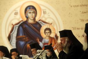 """Δυναμικά παρών ο Αρχιεπίσκοπος Ιερώνυμος στην Κρήτη: """"H Αγία Σύνοδος αγωνίζεται να τονίσει την ανάγκη της ενότητας"""""""