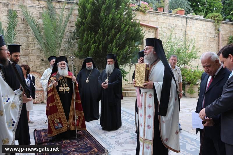 Η Κυριακή της Σαμαρείτιδος στο Πατριαρχείο Ιεροσολύμων