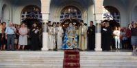 Κόρινθος: Υποδέχθηκε τα λείψανα των αγίων της