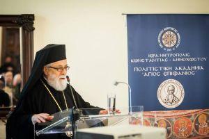 Ο Μητροπολίτης Κωνσταντίας και Αμμοχώστου Βασίλειος διαψεύδει αυτούς που  ισχυρίζονται ότι δεν υπέγραψε