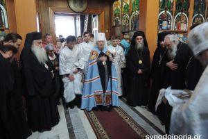 Ξεκίνησαν οι εορταστικές εκδηλώσεις για τον Άγιο Λουκά τον ιατρό, στην Συμφερούπολη της Κριμαίας