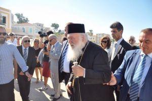 Στις Οινούσσες ο Αρχιεπίσκοπος Ιερώνυμος