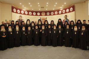 Μέλη της αντιπροσωπείας της Εκκλησίας της Ελλάδος στην πανορθόδοξη